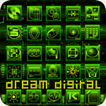 Dream Digital Go Launcher Ex Theme
