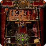 Steampunk Go Locker Theme